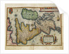 Angliae, Scotiae, et Hiberniae, sive Britannicar: Insularum descriptio (England, Scotland and Ireland, otherwise known as the British Isles) by Abraham Ortelius