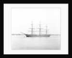 'Macquarie' (Br, 1875) 3 masted ship, ex 'Melbourne' (Devitt & Moore), moored at Gravesend by F. C. Gould & Sons