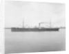 Photograph of cargo liner 'Nairnshire' (1899) 27th April 1904 by unknown