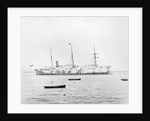 Photograph of cableship 'Silvertown' (1873) by unknown