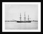 Photograph of a 3 masted ship 'Saint Leonards' (1864) 21st June 1872, off Tilbury, River Thames by unknown