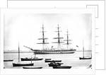 SS 'Great Britain' (Br, 1843) passenger liner, Liverpool & Australian Navigation Co., designed by Isambard Kingdom Brunel and the first screw passenger ship by unknown