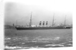 Passenger liner 'City of New York' (1888) at anchor, River Mersey, Liverpool by unknown