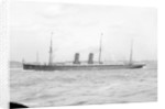 Passenger liner 'Umbria' (Br, 1884) Cunard S S Co Ltd. by unknown