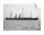 Passenger liner 'Servia' (Br, 1884), Cunard S S Co Ltd by National Maritime Museum