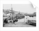 Porthleven Inner Harbour, Cornwall by National Maritime Museum