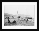 Grange-over-Sands Beach with children playing, Lancashire by National Maritime Museum