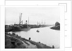 'Zillah', moored to Highbridge Wharf, slightly distant by Anonymous