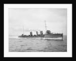 Torpedo boat destroyer 'San Luis' (Argentina, 1910) by unknown