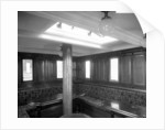 Second Class Smoking Room on the 'Rome' (1881) by Bedford Lemere & Co.