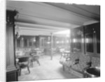 First Class Smoking Room on the 'Saxonia' (1900) by Bedford Lemere & Co.