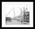 Cranes at the Fitting-out Basin, John Brown & Co. Ltd, Clydebank, 1901 by Bedford Lemere & Co.