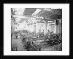 Engine Works generating station at John Brown & Co. Ltd, Clydebank, 1901 by Bedford Lemere & Co.