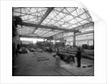 Sawmill at John Brown & Co. Ltd, Clydebank, 1901 by Bedford Lemere & Co.