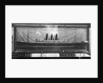 Model of the 'Columbia' (1902) by Bedford Lemere & Co.