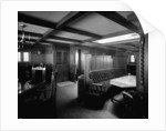 First Class Smoking Room on the 'Highland Loch' (1911) by Bedford Lemere & Co.