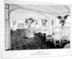 Proposed design of the First Class 'Cafe Parisien' on the 'Olympic' (1911) by Bedford Lemere & Co.