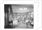 First Class Lounge on the 'Empress of Asia' (1913) by Bedford Lemere & Co.