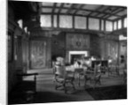 First Class Smoking Room on the 'Empress of Asia' (1913) by Bedford Lemere & Co.