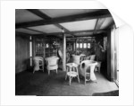 First Class Verandah Cafe on the 'Empress of Asia' (1913) by Bedford Lemere & Co.