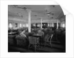 First Class Lounge on the 'Llandovery Castle' (1914) by Bedford Lemere & Co.
