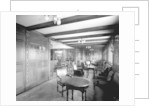 First Class Smoking Room on the 'Orduna' (1914) by Bedford Lemere & Co.