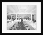 Second Class Dining Saloon on the 'Orduna' (1914) by Bedford Lemere & Co.