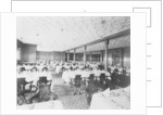 Second Class Dining Saloon on the 'Olympic' (1911) by Bedford Lemere & Co.