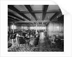Second Class Smoking Room on the 'Olympic' (1911) by Bedford Lemere & Co.