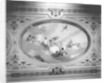 Decorative painting above the First Class Dining Saloon on the 'Aquitania' (1914) by Bedford Lemere & Co.