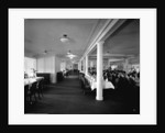 Second Class Dining Saloon on the 'Aquitania' (1914) by Bedford Lemere & Co.