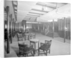 Third Class General Room on the 'Aquitania' (1914) by Bedford Lemere & Co.