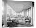 First Class Lounge on the 'Aquitania' (1914) by Bedford Lemere & Co.