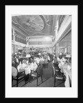 First Class Dining Saloon on the 'Aquitania' (1914) by Bedford Lemere & Co.