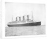 The passenger liner 'Aquitania' (1914) underway by Bedford Lemere & Co.
