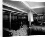 Second Class Smoking Room on the 'Adriatic' (1906) by Bedford Lemere & Co.