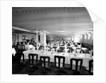 Third Class Dining Saloon on the 'Adriatic' (1906) by Bedford Lemere & Co.