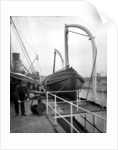 Aft Boat Deck on the 'Missanabie' (1914) by Bedford Lemere & Co.