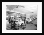 First Class Dining Saloon on the 'Essequibo' (1914) by Bedford Lemere & Co.