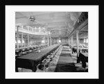 First Class Dining Saloon on the 'Kaisar-i-Hind' (1914) by Bedford Lemere & Co.
