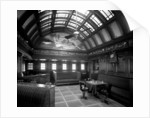 First Class Smoking Room on the 'Kaisar-i-Hind' (1914) by Bedford Lemere & Co.