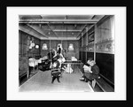 Cabin Class Nursery on the 'Metagama' (1915) by Bedford Lemere & Co.