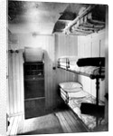 Third Class cabin on the 'Niagara' (1913) by Bedford Lemere & Co.
