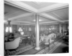 Cabin Class Lounge on the 'Melita' (1918) by Bedford Lemere & Co.