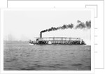 River gunboat, 'Sternwheel' (1911) under way in Southampton Water during builder's trials, prior to dismantling and despatch to Baghdad by unknown