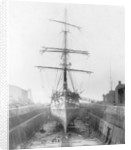 The 'Ferreira' in the New Lower Union Dry Dock, Limehouse by unknown