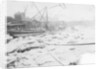The big freeze at Anchor and Hope Wharf, Charlton by unknown
