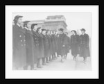 Inspection by the Duchess of Kent of Women's Royal Naval Service (WRNS) Officers' Training Corps by unknown