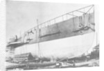 View of Brunel's 'Great Eastern' prior to her 1858 launch by unknown