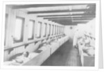 Upper hospital deck of the 'Geneva Cross' (1894) ambulance ship by unknown